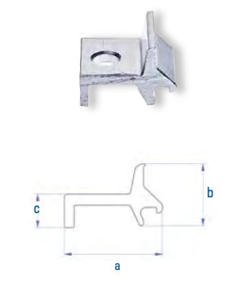 Kreuzverbinder Aluver HC4