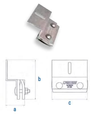 Stehfalzklemme mit Z-Adapter Falzdachklemme CSC-S-Z AI 110