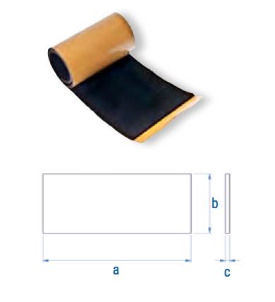 EPDM-Zuschnitt zu TSM4 RU TSM4 70 x 28 x 2