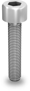 Zylinderkopfschr. nach DIN 912/EN ISO 4762, M8x25 Unterkopfverzahnung / Hexagonal socket head cap sc