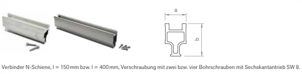 Schienenverbinder-Set N Premium