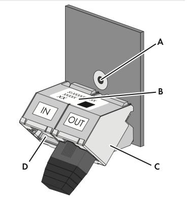 Interface SI-COMSMA RS485 (Preis auf Anfrage)