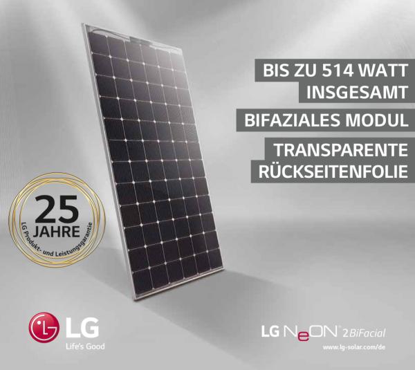 LG NeON2 LG390N2T-A5 - 390 Wp (BiFacial)