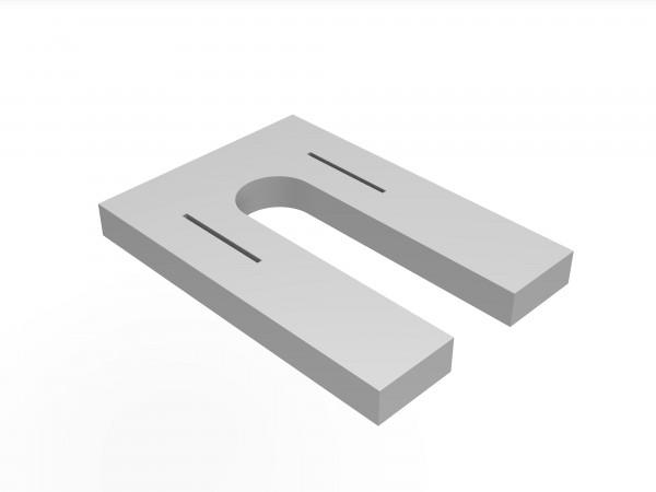 Unterlage 5mm fuer DN10 PA