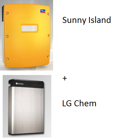 SMA SI4.4M-12 Set - LG Chem RESU6.5
