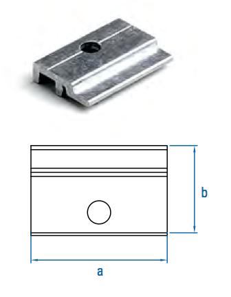 Halteklammer Alutec HC2