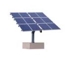 Einachsiges Trackingsystem für bis zu 2,94 kWp