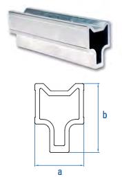 Verbinder-Set für Montageschiene Aluver Premium