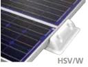 Verbindungsprofil aus ABS Kunststoff HSV/W