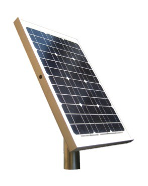 Solarmodul für Parkscheinautomaten