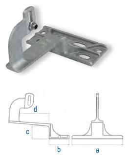 Aluminiumguss HSA 533 Nus