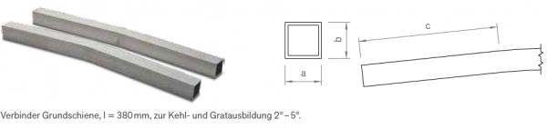 Verbinder-Set Grundschiene